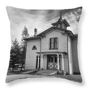 Hamilton House Garden House Throw Pillow