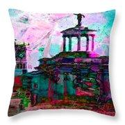 Hamilton Ohio City Art 16 Throw Pillow