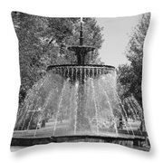 Hamilton Ontario Gore Park Fountain Throw Pillow