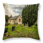Hamlet Church Throw Pillow