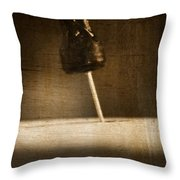 Hammer And A Nail Throw Pillow