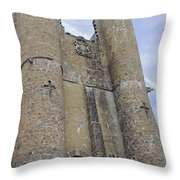 Hammond Castle Detail II Throw Pillow