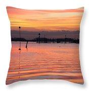 Hampshire Sunset Throw Pillow