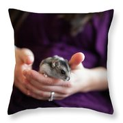 Hampster Throw Pillow