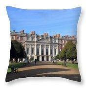 Hampton Court Palace England Throw Pillow