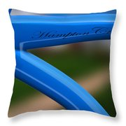 Hampton Cruiser  Throw Pillow