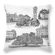 Hampton Institute Throw Pillow