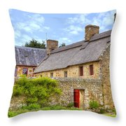 Hamptonne Country Life Museum - Jersey Throw Pillow