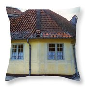 Hans Christian Anderson Birthplace Throw Pillow