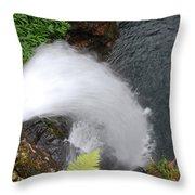Hana Waterfall Throw Pillow