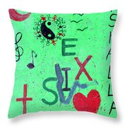 Hand In Hand We Stand Throw Pillow