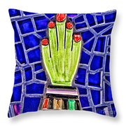 Hand Me Down By Diana Sainz Throw Pillow