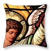 Hand Of The Angel Throw Pillow