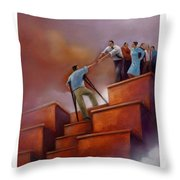 Handicapped Throw Pillow