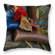Handled With Care Throw Pillow