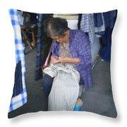 Handmade #3 Throw Pillow