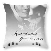 Hands Of Amelia Throw Pillow