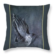Hands Of An Apostle 1508 Throw Pillow by Philip Ralley