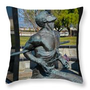 Hands Of Sorrow Throw Pillow