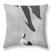 Hands Of The Puppeteer, 1929 Throw Pillow by Tina Modotti