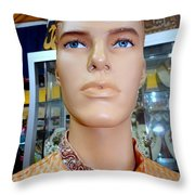 Handsome Harry Throw Pillow