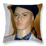 Handsome Henry Throw Pillow