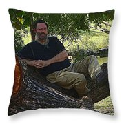 Handsome  Throw Pillow