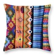 Handwoven Throw Pillow