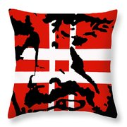 Hang Them High Throw Pillow