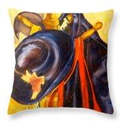 Hang-ups Throw Pillow