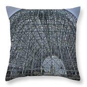 Hangar One Throw Pillow