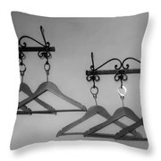 Hangers Throw Pillow by Dany Lison