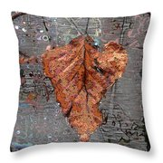 Hangin In There Throw Pillow