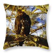Hanging By The River  Throw Pillow
