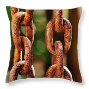 Hanging Chain Throw Pillow