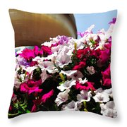 Hanging Flowers 6720 Throw Pillow