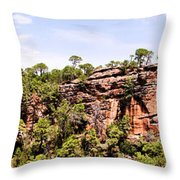 Hanging Forest Throw Pillow