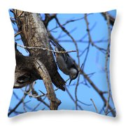 Hanging In The Park Throw Pillow