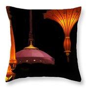 Hanging Lamp  Throw Pillow