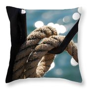 Hanging Loose Throw Pillow