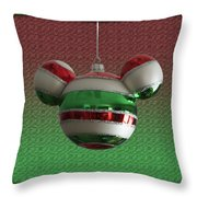 Hanging Mickey Ears 02 Throw Pillow