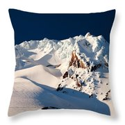 Hanging On Hood Throw Pillow by Darren  White