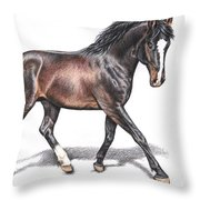 Hannoveraner Throw Pillow