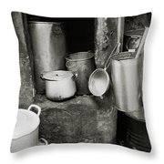 Hanoi Old City Throw Pillow