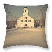 Hanover Center Church Etna New Hampshire Throw Pillow