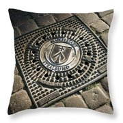 Hansastadt Stralsund Throw Pillow