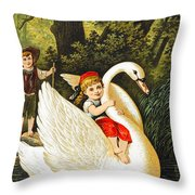 Hansel And Gretel Throw Pillow