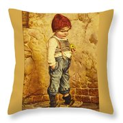 Hansel Brothers Grimm Throw Pillow