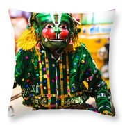 Hanuman At Chitirai Throw Pillow