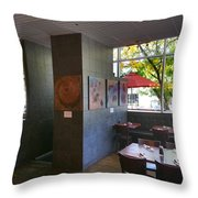 Hapa Sushi Cherry Creek 2 Throw Pillow